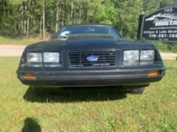 1983 FORD MUSTANG V6 CONVERTIBLE - Image 3