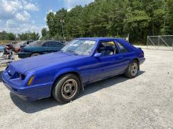 1979-1986 - Parts Cars - 1986 Ford Mustang Hatchback