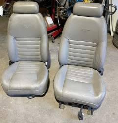 Interior - Seats - 1999-2004 Leather Seats - Grey